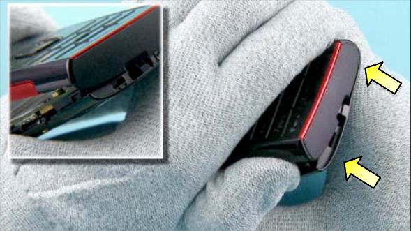 Как разобрать телефон Nokia X2 00 для замены дисплея или корпуса (14)