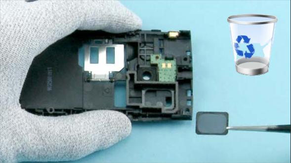 Как разобрать телефон Nokia X2 00 для замены дисплея или корпуса (32)