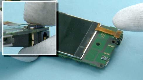 Как разобрать телефон Nokia X2 00 для замены дисплея или корпуса (34)
