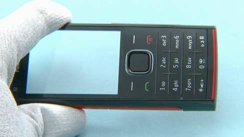 Как разобрать телефон Nokia X2 00 для замены дисплея или корпуса (43)