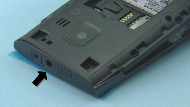 Как разобрать телефон Nokia X2 01 для замены дисплея или корпуса (38)