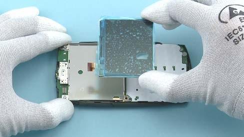 Как разобрать телефон Nokia X2 01 для замены дисплея или корпуса (29)