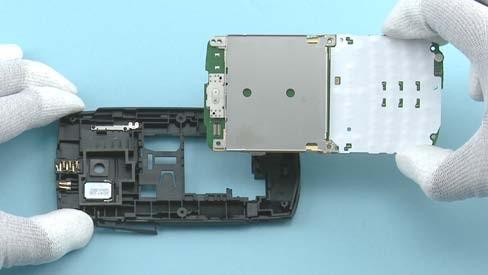 Как разобрать телефон Nokia X2 01 для замены дисплея или корпуса (25)