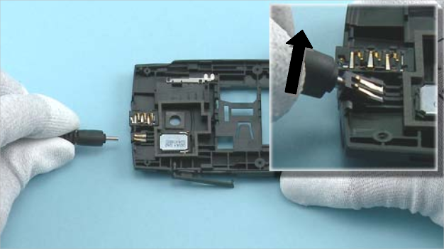 Как разобрать телефон Nokia X2 01 для замены дисплея или корпуса (24)