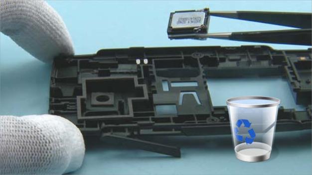 Как разобрать телефон Nokia X2 01 для замены дисплея или корпуса (20)