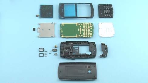 Как разобрать телефон Nokia X2 01 для замены дисплея или корпуса (8)