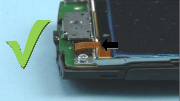 Как разобрать телефон Nokia X2 01 для замены дисплея или корпуса (2)