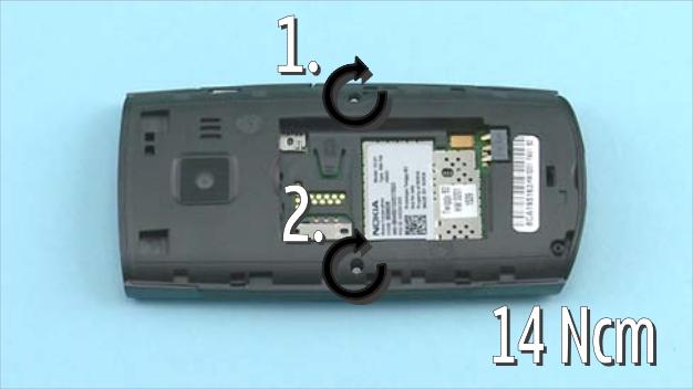 Как разобрать телефон Nokia X2 01 для замены дисплея или корпуса (1)