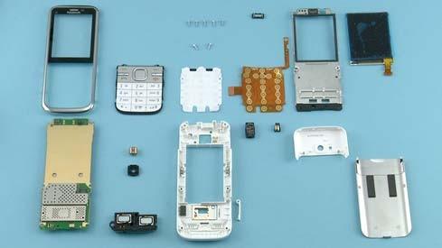 Как разобрать телефон Nokia C5