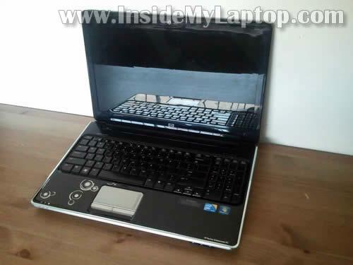 Как разобрать ноутбук HP