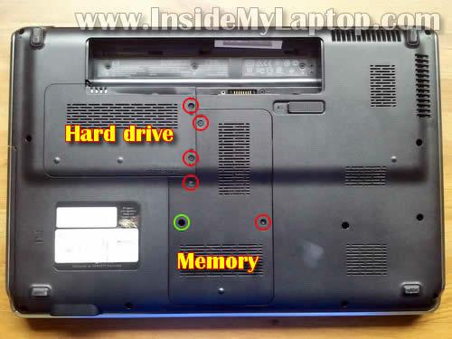 Как разобрать ноутбук HP Pavilion dv6 (2)