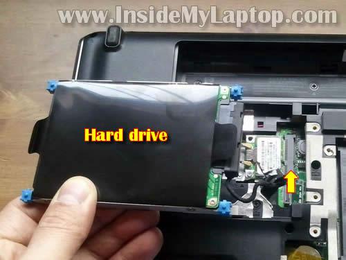 Как разобрать ноутбук HP Pavilion dv6 (4)