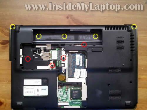 Как разобрать ноутбук HP Pavilion dv6 (6)