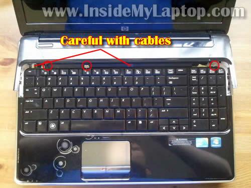 Как разобрать ноутбук HP Pavilion dv6 (8)