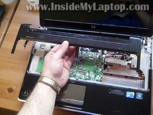 Как разобрать ноутбук HP Pavilion dv6 (15)