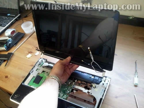 Как разобрать ноутбук HP Pavilion dv6 (20)