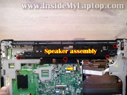 Как разобрать ноутбук HP Pavilion dv6 (22)