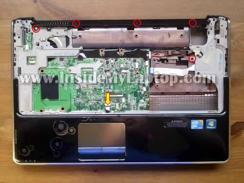 Как разобрать ноутбук HP Pavilion dv6 (24)