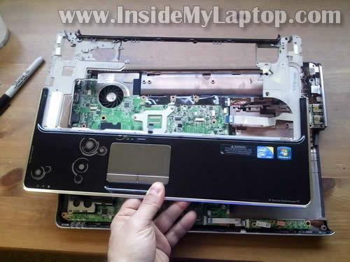 Как разобрать ноутбук HP Pavilion dv6 (26)