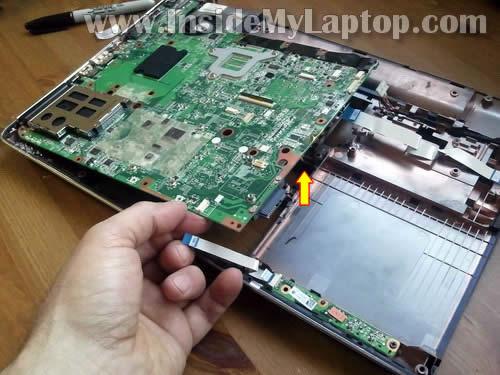 Как разобрать ноутбук HP Pavilion dv6 (29)