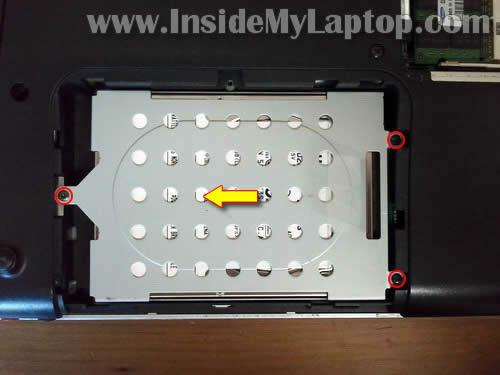 Как разобрать ноутбук Sony Vaio VGN-FW170J (4)
