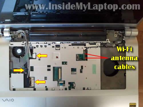 Как разобрать ноутбук Sony Vaio VGN-FW170J (19)