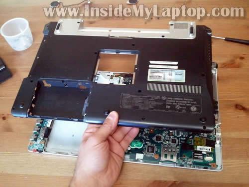 Как разобрать ноутбук Sony Vaio VGN-FW170J (24)
