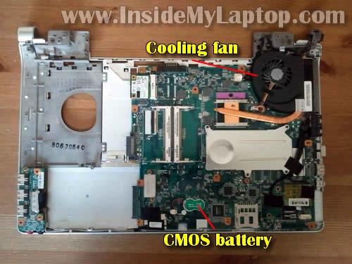 Как разобрать ноутбук Sony Vaio VGN-FW170J (25)
