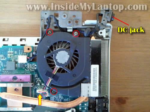 Как разобрать ноутбук Sony Vaio VGN-FW170J (26)