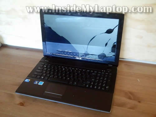 Как заменить экран на ноутбуке Asus U52F