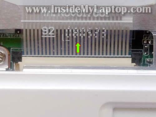 Как заменить клавиатуру на ноутбуке Asus Eee PC 900 (7)
