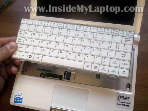 разборке ноутбуков ASUS,