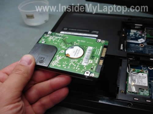Оставьте себе старый жесткий диск при - Dell