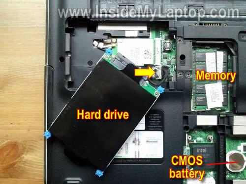 Как разобрать ноутбук HP Pavilion dv5 (4)
