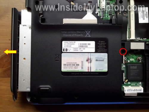 Как разобрать ноутбук HP Pavilion dv5 (8)