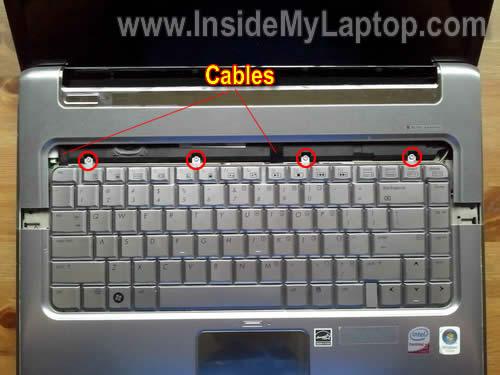 Как разобрать ноутбук HP Pavilion dv5 (12)