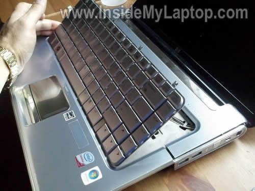 Как разобрать ноутбук HP Pavilion dv5 (13)