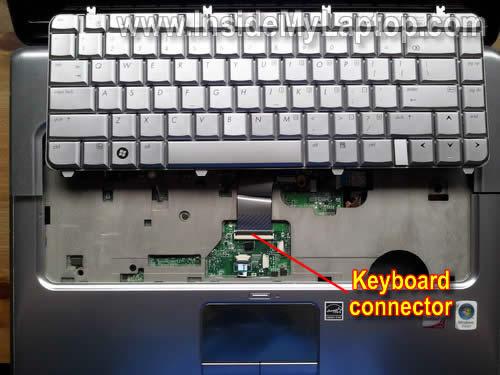 Как разобрать ноутбук HP Pavilion dv5 (14)
