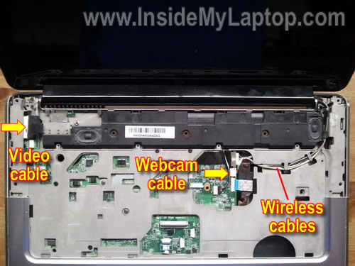 Как разобрать ноутбук HP Pavilion dv5 (20)