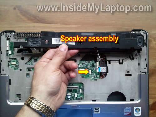 Как разобрать ноутбук HP Pavilion dv5 (24)