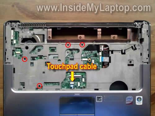 Как разобрать ноутбук HP Pavilion dv5 (26)