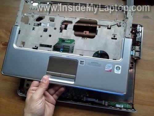 Как разобрать ноутбук HP Pavilion dv5 (28)