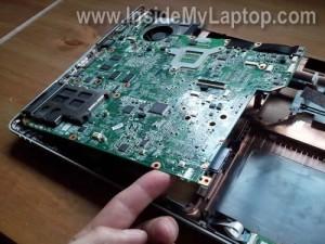 Разбираем ноутбук HP Pavilion dv5 (модель Pavilion dv5t-1000).  В нашем случае нужно заменить шумный.