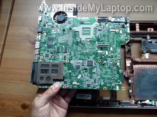 Как разобрать ноутбук HP Pavilion dv5 (31)