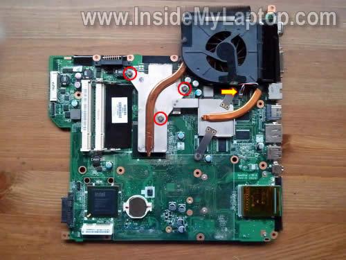 Как разобрать ноутбук HP Pavilion dv5 (33)