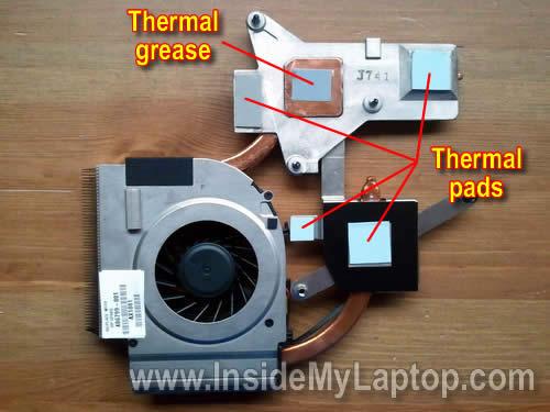 Как разобрать ноутбук HP Pavilion dv5 (21)