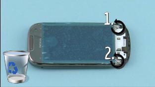 Как разобрать телефон Nokia C7-00 (10)