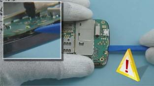 Как разобрать телефон Nokia C6-01 (14)