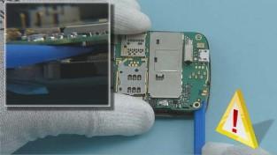 Как разобрать телефон Nokia C6-01 (15)