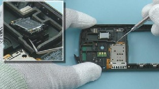 Как разобрать телефон Nokia C7-00 (39)